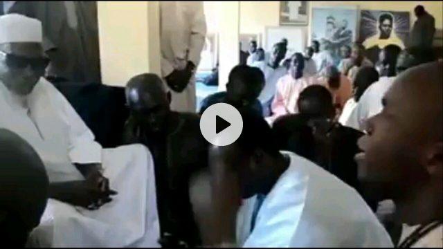 Admirez le sourire radieux de Serigne Sidy Mahtar Mbacké