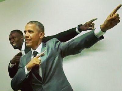 Quand Usain Bolt rencontre Barack Obama,  chic et choc!