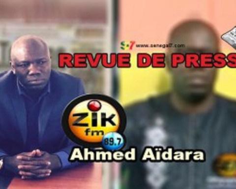 Revue de presse du Vendredi 21 Octobbre 2016 avec Ahmed Aidara