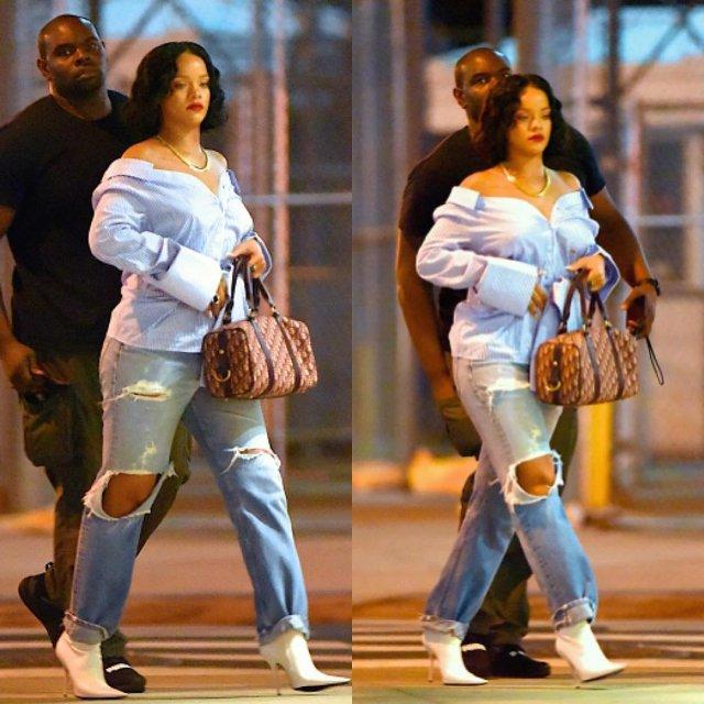 Body shaming rihanna humili e sur la toile cause de sa prise de poids images - Rihanna poids 2017 ...